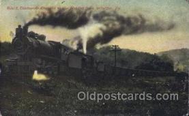 tra006429 - Train Trains Locomotive, Steam Engine,  Postcard Postcards