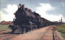 tra006431 - The limited Express Train Trains Locomotive, Steam Engine,  Postcard Postcards