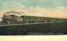 tra006433 - New England States, Limited Train Trains Locomotive, Steam Engine,  Postcard Postcards