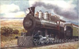 tra006462 - Raphael Tuck & Sons Katy Flyer Missouri Kansas & Texas Railway Train Trains Locomotive, Steam Engine,  Postcard Postcards