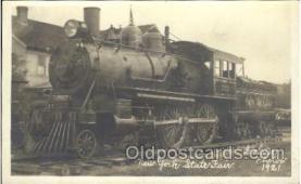 tra006464 - New York State Fair Train Trains Locomotive, Steam Engine,  Postcard Postcards