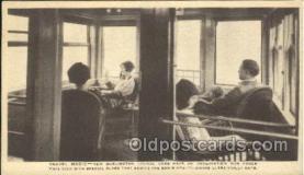 tra006469 - New Burlington Lounge Cars Locomotives Train Trains Locomotive, Steam Engine,  Postcard Postcards