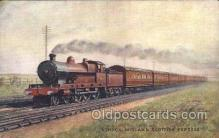 tra006493 - Raphael Tuck & Sons London Brighton and South Coast Express Train Trains Locomotive, Steam Engine,  Postcard Postcards