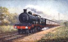 tra006495 - Raphael Tuck & Sons Sheffield and Manchester Express Train Trains Locomotive, Steam Engine,  Postcard Postcards