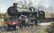 tra006498 - Raphael Tuck & Sons Great Western Express Train Trains Locomotive, Steam Engine,  Postcard Postcards
