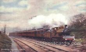 tra006499 - Raphael Tuck & Sons Brighton Pullman Limited Train Trains Locomotive, Steam Engine,  Postcard Postcards
