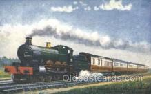 tra006507 - The Great Western Railway, The Fishguard Boat Express Train Trains Locomotive, Steam Engine,  Postcard Postcards