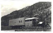 tra006521 - Galloping Goose RGS Train, Trains, Railroad, Railroads Postcard Postcards