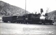 tra006522 - Idaho Springs, Colorado, USA Train, Trains, Railroad, Railroads Postcard Postcards
