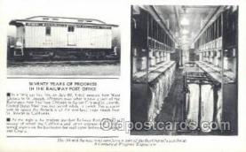tra006536 - St Joseph MI USA Train, Trains, Locomotive, Old Vintage Antique Postcard Post Card