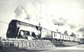 tra006539 - Waynesboro, VA USA Train, Trains, Locomotive, Old Vintage Antique Postcard Post Card
