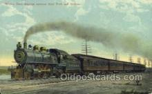 tra006554 - Empire Express , Buffalo, NY USA Train, Trains, Locomotive, Old Vintage Antique Postcard Post Card