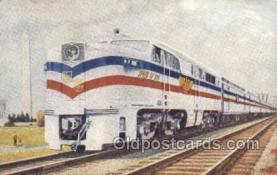 tra006555 - Freedom Train USA Train, Trains, Locomotive, Old Vintage Antique Postcard Post Card