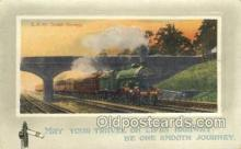 tra006556 - Scotch Express  Train, Trains, Locomotive, Old Vintage Antique Postcard Post Card