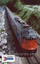 tra006557 - Amtrak  Train, Trains, Locomotive, Old Vintage Antique Postcard Post Card