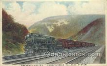 tra006560 - Broadway Limited, PA USA Train, Trains, Locomotive, Old Vintage Antique Postcard Post Card