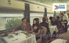 tra006564 - Amtrak  Train, Trains, Locomotive, Old Vintage Antique Postcard Post Card