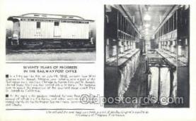 tra006569 - Train, Trains, Locomotive, Old Vintage Antique Postcard Post Card