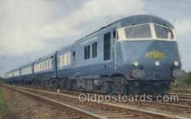 tra006577 - Midland Pullman, Manchester, UK Train, Trains, Locomotive, Old Vintage Antique Postcard Post Card