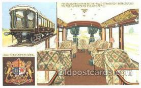 tra006578 - Pullman Car, London UK Train, Trains, Locomotive, Old Vintage Antique Postcard Post Card