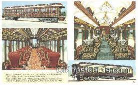 tra006579 - Pullman Car, London UK Train, Trains, Locomotive, Old Vintage Antique Postcard Post Card