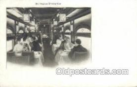 tra006583 - Burlington Train, Trains, Locomotive, Old Vintage Antique Postcard Post Card