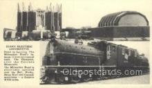 tra006591 - Giant Electric Locomotive, USA Train, Trains, Locomotive, Old Vintage Antique Postcard Post Card
