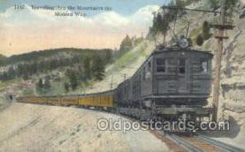 tra006620 - Train, Trains, Locomotive, Old Vintage Antique Postcard Post Card