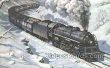 tra006635 - 5567, OH USA Train, Trains, Locomotive, Old Vintage Antique Postcard Post Card