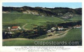 tra006641 - Burlington, USA Train, Trains, Locomotive, Old Vintage Antique Postcard Post Card