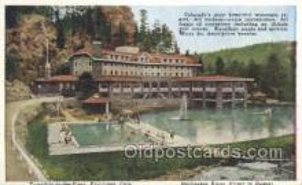 tra006657 - Burlington, Denver, CO USA Train, Trains, Locomotive, Old Vintage Antique Postcard Post Card