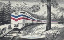 tra006661 - Freedom Train USA Train, Trains, Locomotive, Old Vintage Antique Postcard Post Card