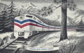 tra006661 - Freedom Train USA Train, Trains, Locomotive, Old Vintage Antique Postcard Post Card