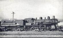 tra006666 - Southern Pacific Locomotive no 1749, Fresno, CA USA Train, Trains, Locomotive, Old Vintage Antique Postcard Post Card