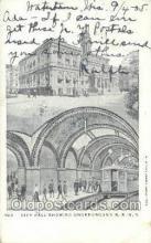 tra006668 - Underground RR, New York, NY USA Train, Trains, Locomotive, Old Vintage Antique Postcard Post Card
