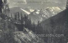 tra006675 - Great Northern RR, Cascades, WA USA Train, Trains, Locomotive, Old Vintage Antique Postcard Post Card