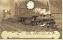 tra006676 - Train, Trains, Locomotive, Old Vintage Antique Postcard Post Card