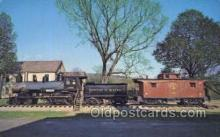 tra006715 - VT88 Train Railroad Station Depot Postcards Post Cards
