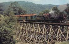 tra006720 - Tweetsie RR, Boone, NC, North Carolina, USA Train Railroad Station Depot Postcards Post Cards