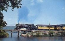 tra006739 - Monadnock Steam town and Northern Train Railroad Station Depot Postcards Post Cards