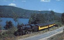 tra006742 - Monadnock Steam town and Northern Train Railroad Station Depot Postcards Post Cards
