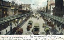 tra006766 - Elevated Road, NY, New York ,USA Train Railroad Station Depot Postcards Post Cards