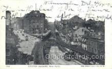 tra006769 - Cooper Square, NY , New York, USA Train Railroad Station Depot Postcards Post Cards