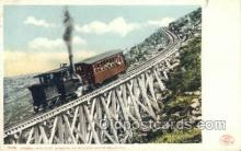tra006778 - Jacbos Ladder, Mt Washington, USA Train Railroad Station Depot Postcards Post Cards