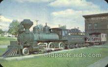 tra006785 - Three Spot Locomotive, Harbors , MN, Minnesota, USA Train Railroad Station Depot Postcards Post Cards