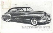 tra007001 - 1946 Buick Super Four Door Automotive, Autos, Cards Old Vintage Antique Postcard Post Card