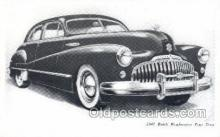tra007003 - 1947 Buick Road master Four Door Automotive, Autos, Cards Old Vintage Antique Postcard Post Card