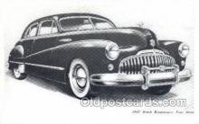 tra007004 - 1947 Buick Road master Four Door Automotive, Autos, Cards Old Vintage Antique Postcard Post Card