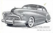 tra007006 - 1948 Buick Super Four Door Automotive, Autos, Cards Old Vintage Antique Postcard Post Card
