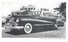 tra007009 - 1948 Buick Road master Convertible Coupe Automotive, Autos, Cards Old Vintage Antique Postcard Post Card